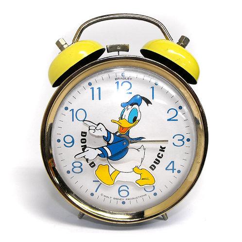 Animated Donald Duck Alarm Clock 1984