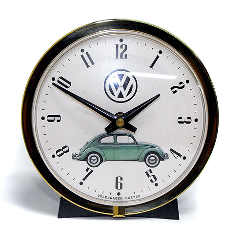 1967 Westclox Big Ben with Volkswagen Beetle