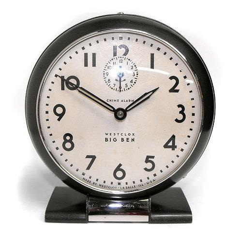 Original Style 5 Westclox Big Ben Chime Alarm