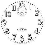 Big Ben Style 3 Clock Dial