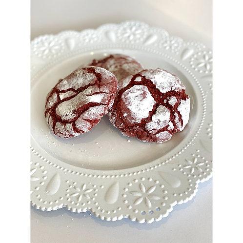 1 Dozen Chelsea's Crushed Velvet Cookies