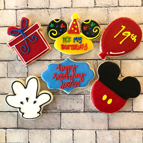 DCP Disney birthday ears Mickey hand bal