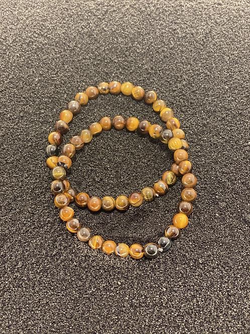 Tiger Eye Men's Bracelet (Set of 2)