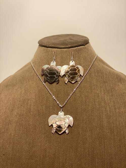 Mother of Pearl Turtle Set