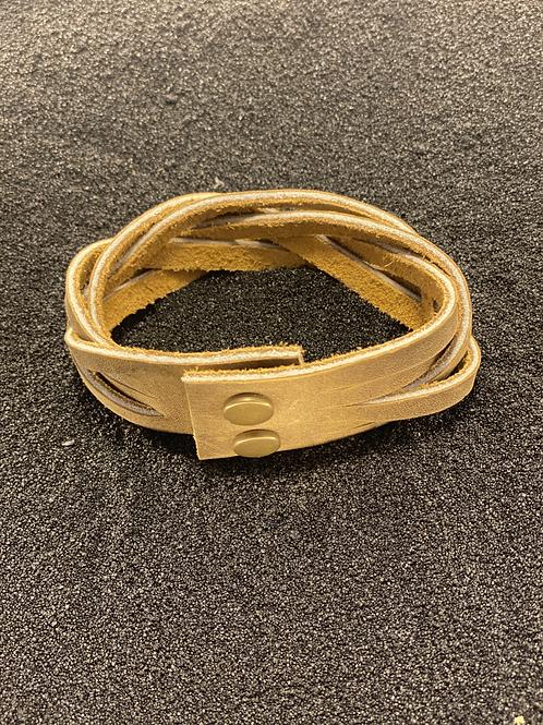 Braided Leather Men's Bracelet