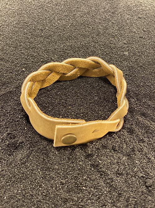Leather Braided Men's Bracelet