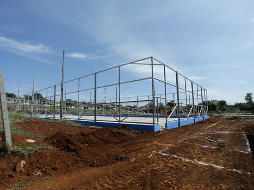 Mais conforto: EcoPark Oeste terá três módulos com banheiros e quadra esportiva