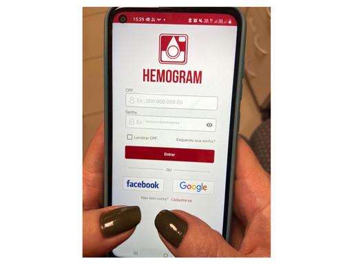 Hemepar lança nova versão de aplicativo para auxiliar na doação de sangue
