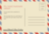 Red and Blue Cute Direct Mail General Po