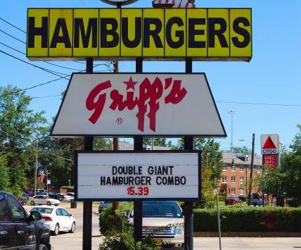 Griff's Hamburgers, Ruston, Louisiana