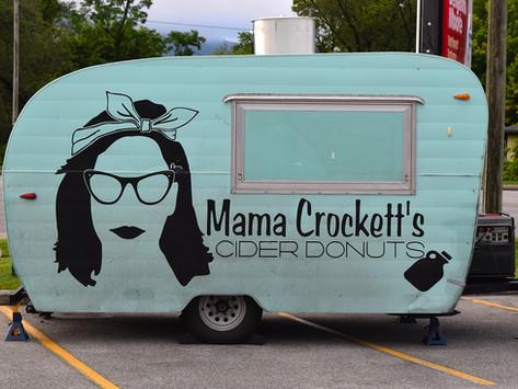 Mama Crockett's Cider Donuts, Mobile Camper