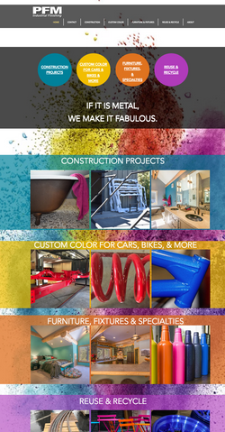 Metalworks & Powder Coating Construction Client