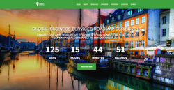 Global Business Services Event Websi