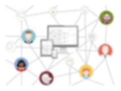 Colaboración profesional: Comunidad online y coworking