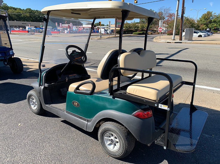 2014 Green Club Car Precedent with used batteries