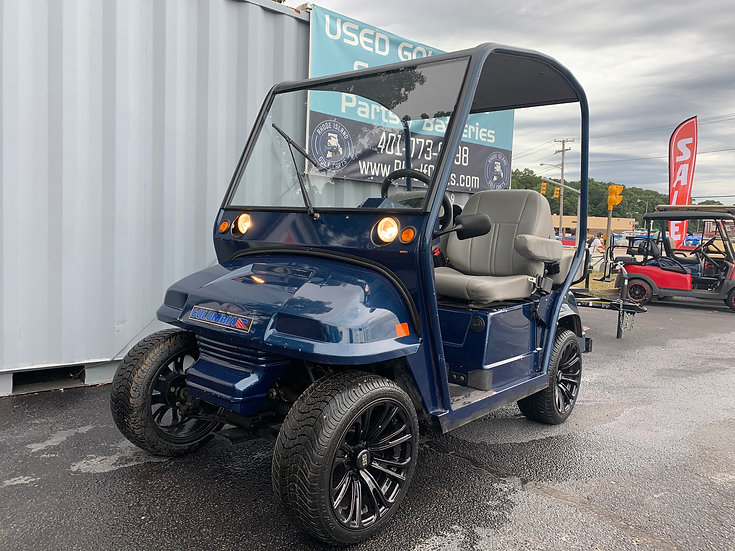 """2007 Colombia Golf Cart LSV 4 Seater 14"""" rims"""