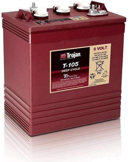 Trojan Battery T-105 (6-volt)