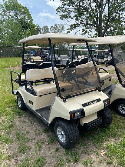 2001 Club Car DS Gas Powered - 4 Passenger Golf Cart.