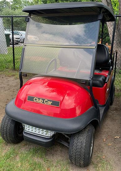 2015 Red 48v Club Car Precedent New Batteries