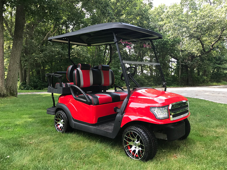 Club Car Alpha Body  48v with rear seat custom!