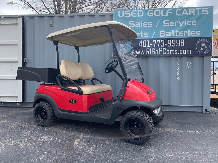 2015 Red Utility Club Car Precedent 48v New Batteries