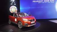 Geneve, Car of Year? It's a Peugeot!