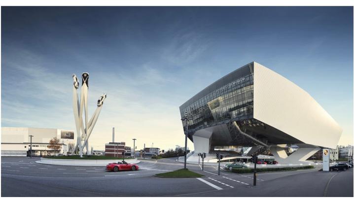 Virtual tour at Porsche Museum