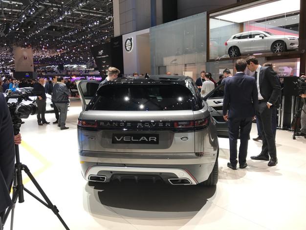 Range Rover Velar, best in class #gims2017