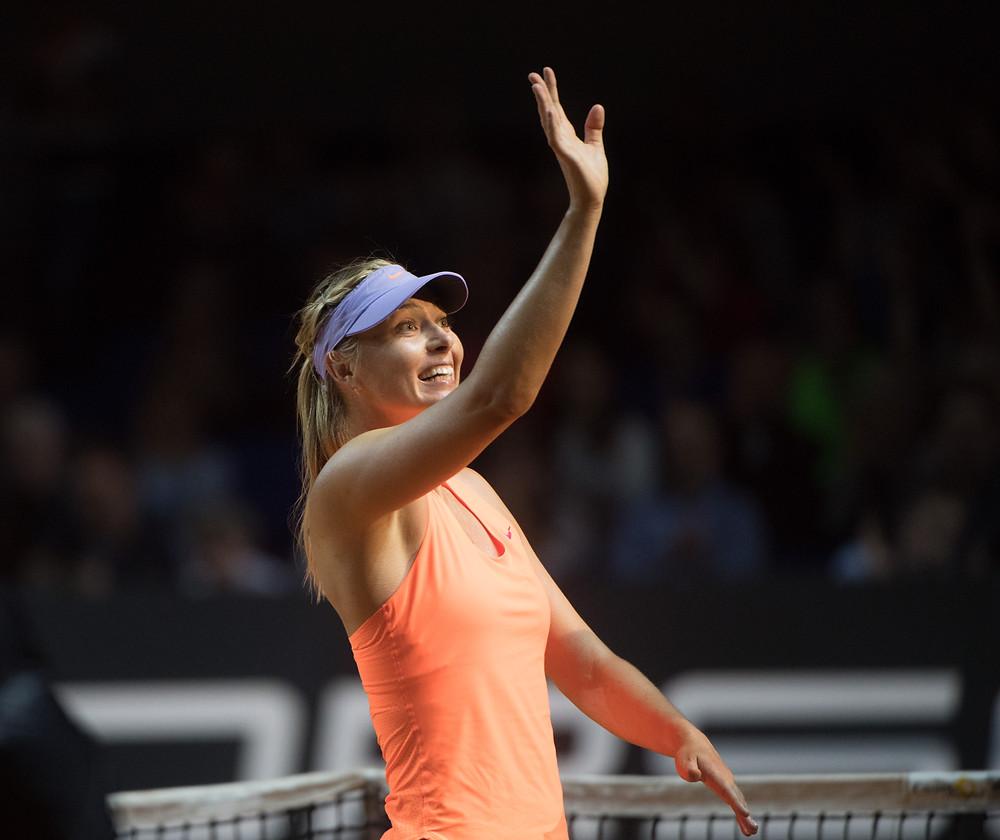 Maria Sharapova, il rientro alle competizioni