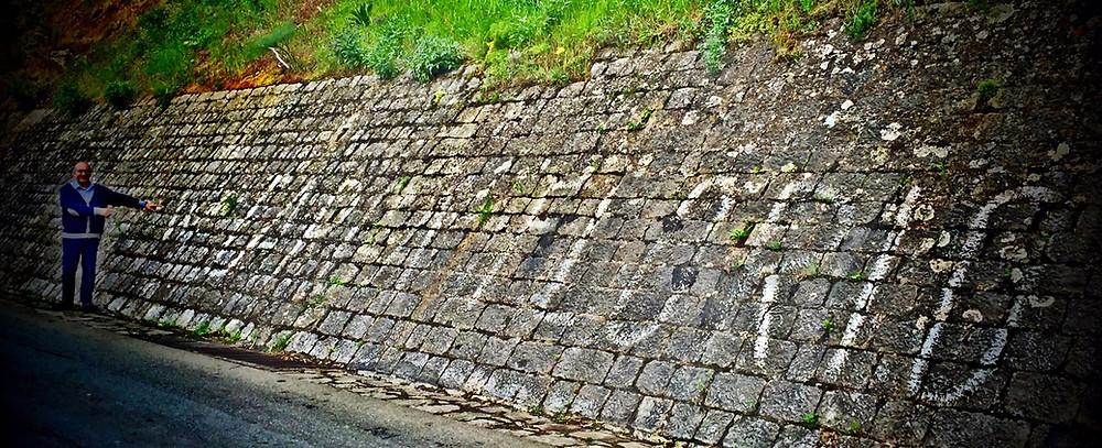 La Targa Florio vera, i post in bacheca (sul muro di Collesano!)