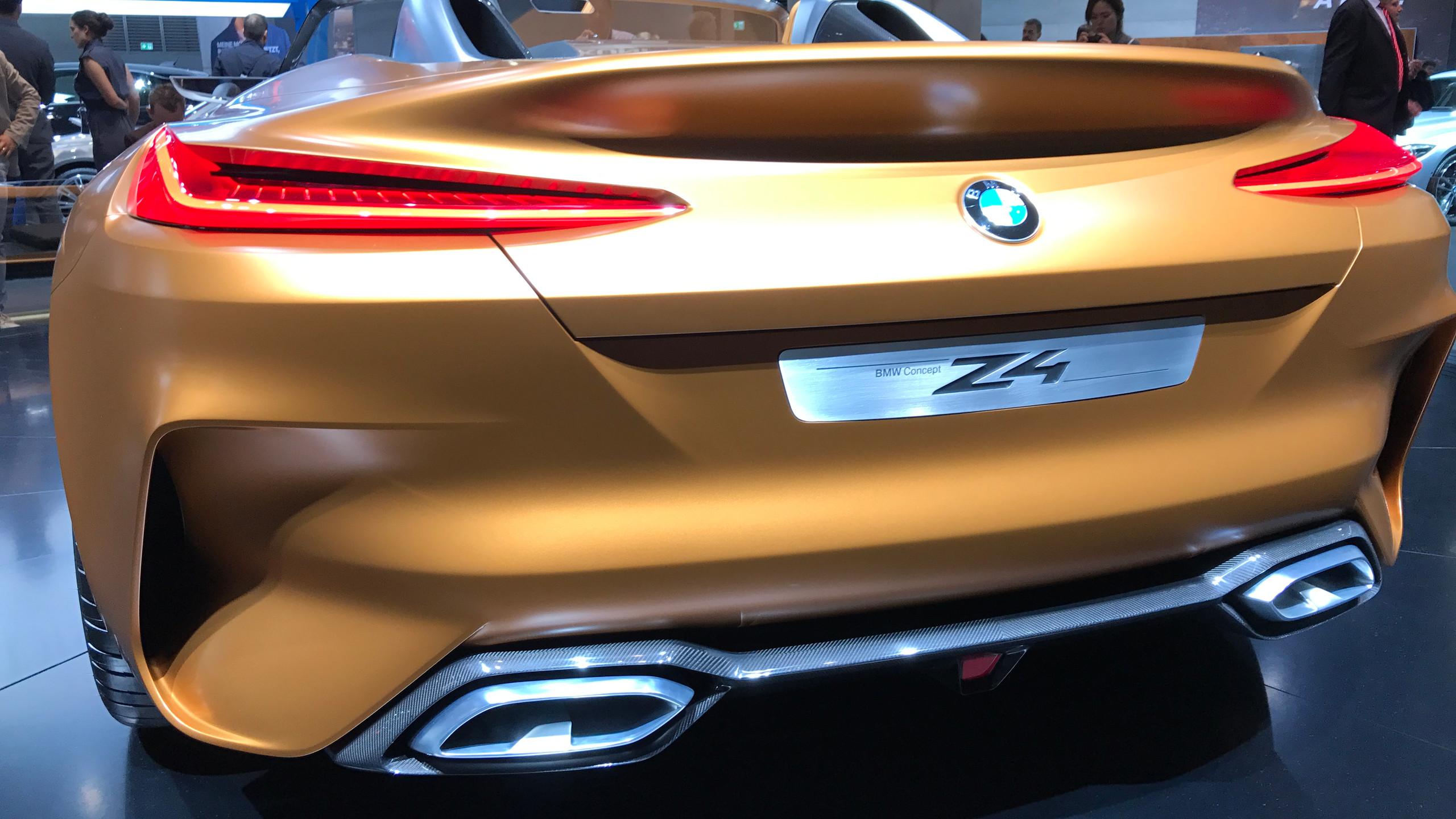 BMW Z4, il concept più bello