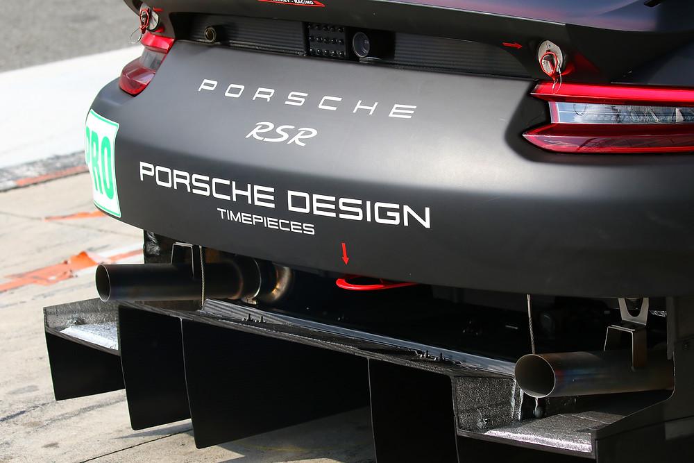 La nuova 911 RSR, middle engine