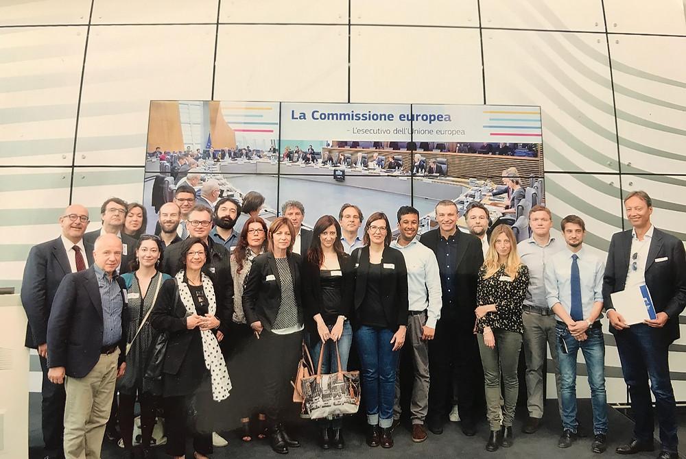 Associazione Stampa del Veneto alla Commissione Europea