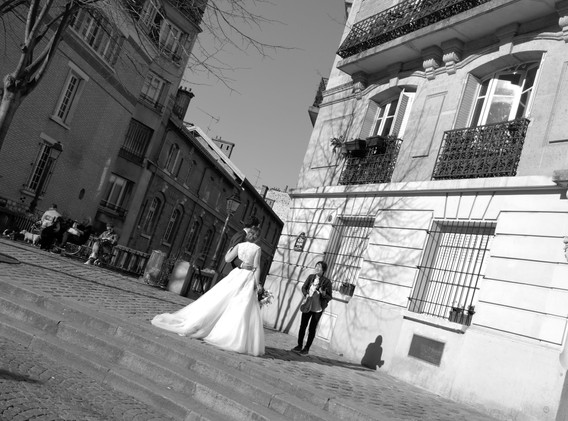 THE BRIDE AND THE PIGEON