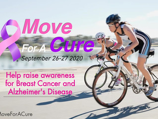 Join Us For Move For A Cure - Virtual Exercise Event
