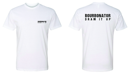 CARE - bourbonator - white - front and b
