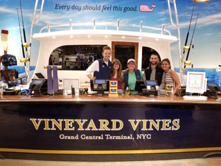 CARE's Successful Vineyard Vines 10/10 Events