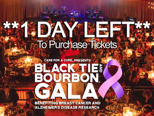 1 Day Left To Buy Tickets