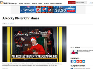 A Rocky Bleier Christmas Featured on CBS News