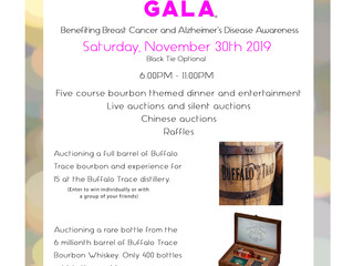 Care for a Cure announces Black Tie Bourbon Gala for Alzheimer's and Breast Cancer