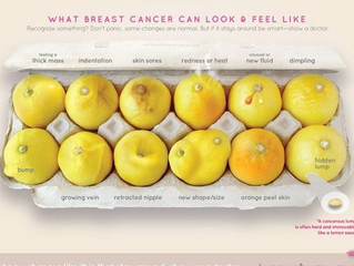 12 key signs of breast cancer, as seen in viral image of lemons