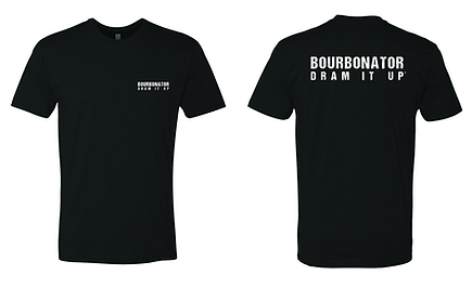 CARE - bourbonator - black - front and b