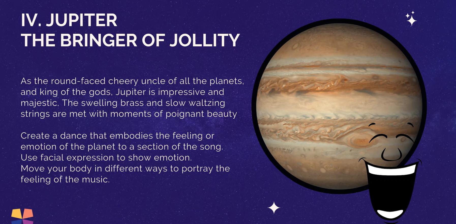 Jupiter, Bringer of Jollity