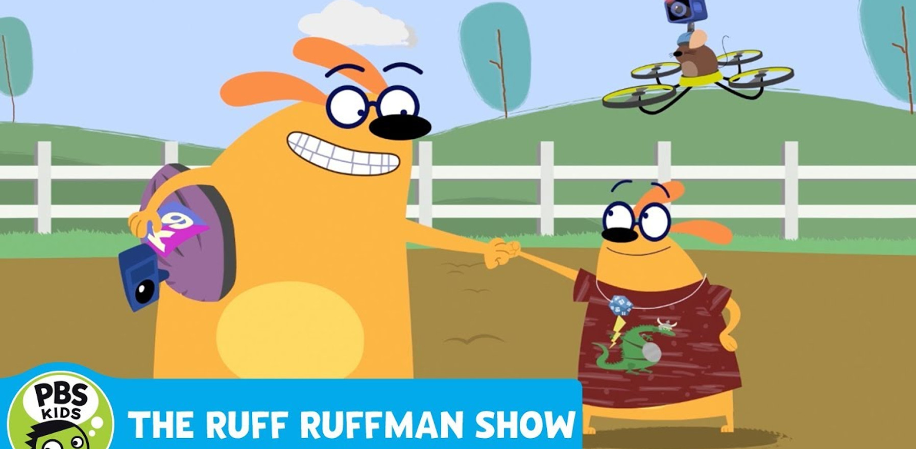 """Ruff Ruffman """"Pulling for the Plushie"""""""