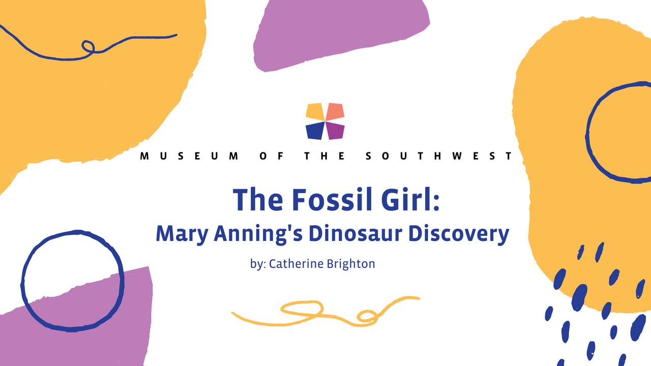 The Fossil Girl: Mary Anning's Dinsoaur Discovery by Catherine Brighton
