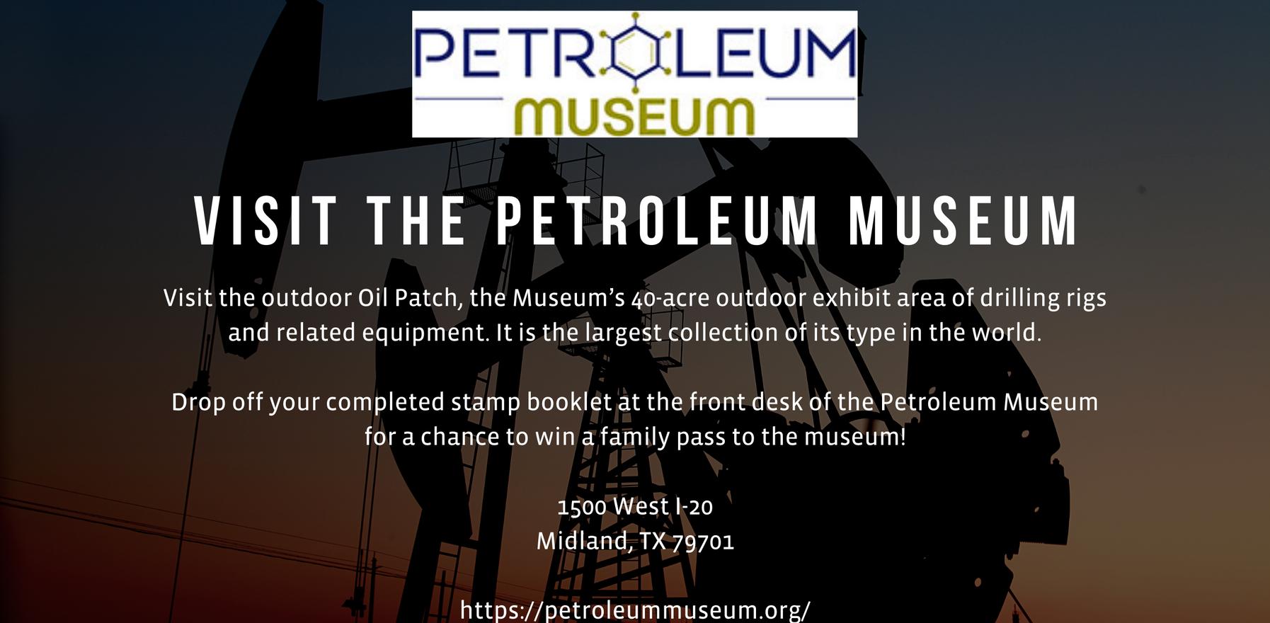 Visit the Petroleum Museum