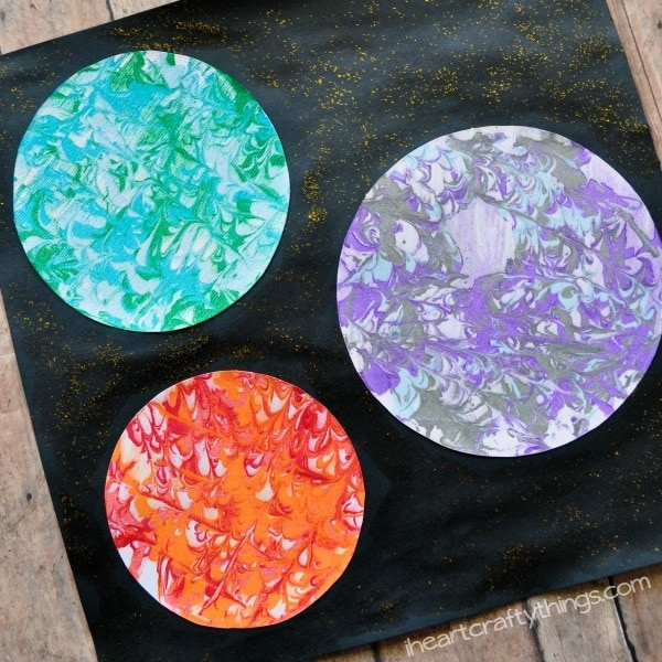 Marbling a New Planet