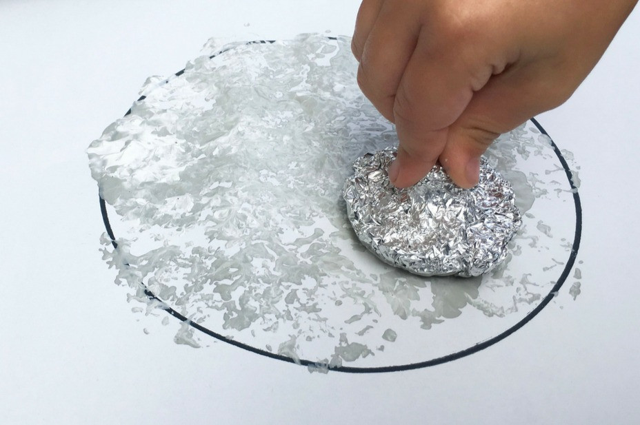 Foil Printed Moon