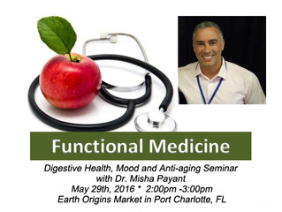 Digestive Health, Mood and Anti-aging Seminar with Dr. Misha Payant, DAOM