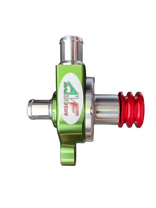 Water pump - ITALIAN TRICOLOR LIMITED EDITION - with Smooth Pulley for Radiator